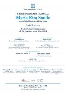 Premio Nazionale Maria Rita Saulle @ Gli Archi | Roma | Lazio | Italia